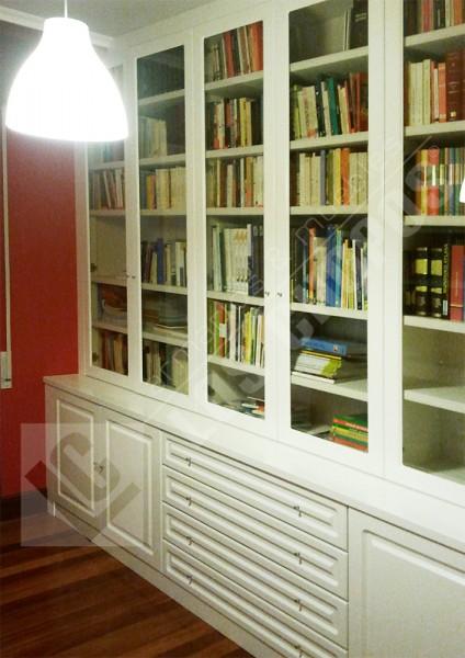 Muebles de Salón y Librerías - ARMARIOS EMPOTRADOS LOS CHOPOS S.L.